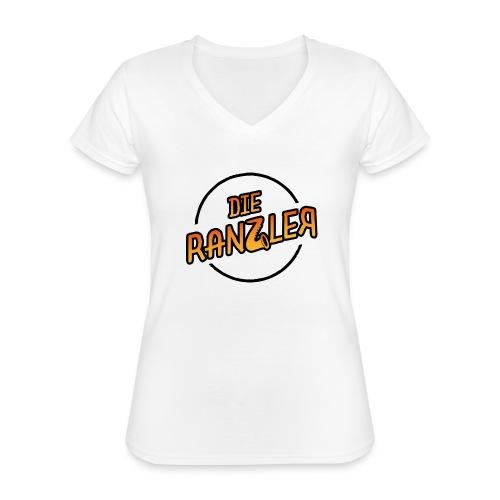 Die Ranzler Merch - Klassisches Frauen-T-Shirt mit V-Ausschnitt