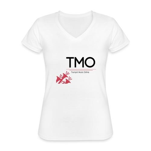 TMO Logo - Classic Women's V-Neck T-Shirt