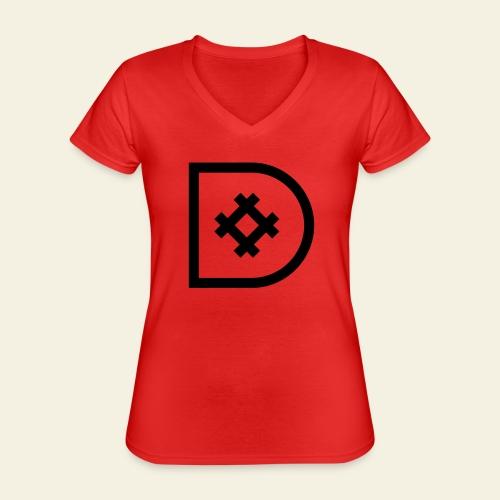 Icona de #ildazioètratto - Maglietta da donna classica con scollo a V