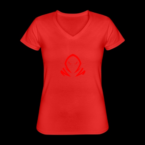 New Official TagX Logo - Klassinen naisten t-paita v-pääntiellä