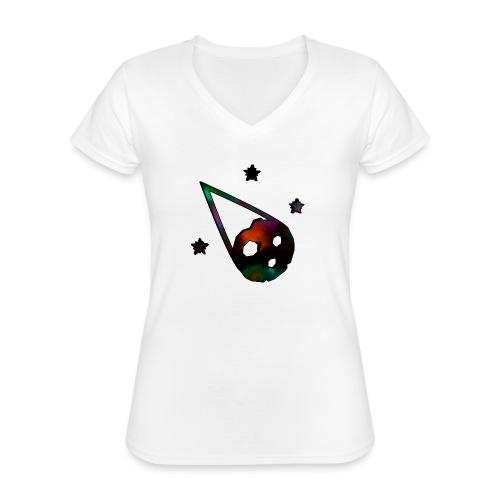 logo interestelar - Camiseta clásica con cuello de pico para mujer