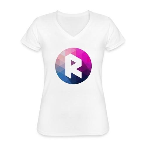 radiant logo - Classic Women's V-Neck T-Shirt