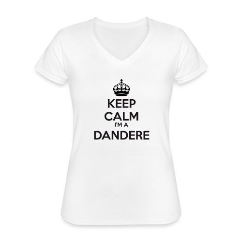 Dandere keep calm - Classic Women's V-Neck T-Shirt