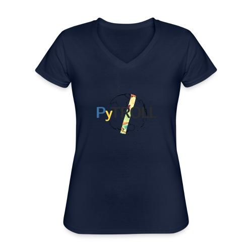light logo spectral - Classic Women's V-Neck T-Shirt