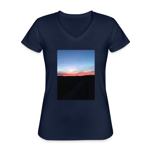 late night cycle - Classic Women's V-Neck T-Shirt
