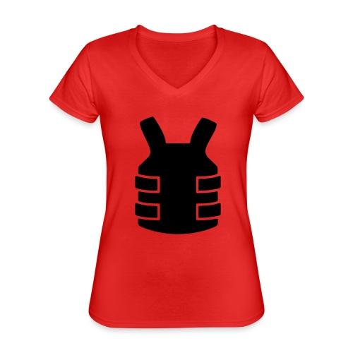 Bullet Proof Design - Classic Women's V-Neck T-Shirt