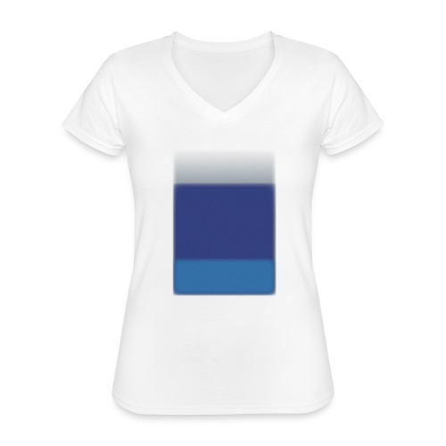 Background @BGgraphic - Klassisk dame T-shirt med V-udskæring