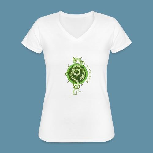 Jormungand logo png - Maglietta da donna classica con scollo a V