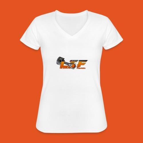 LSFlogo - T-shirt classique col V Femme