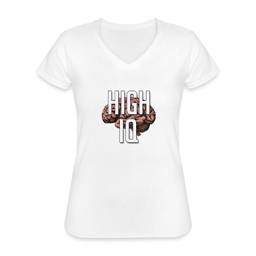 XpHighIQ - T-shirt classique col V Femme