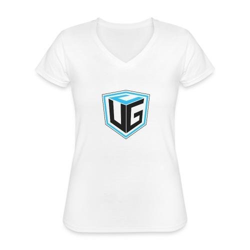 Ultimate Gaming Community Cube - Klassisches Frauen-T-Shirt mit V-Ausschnitt