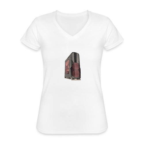 ULTIMATE GAMING PC DESIGN - Classic Women's V-Neck T-Shirt
