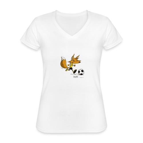 Valmy mascotte - T-shirt classique col V Femme