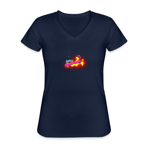 Spilministeriet - Klassisk dame T-shirt med V-udskæring