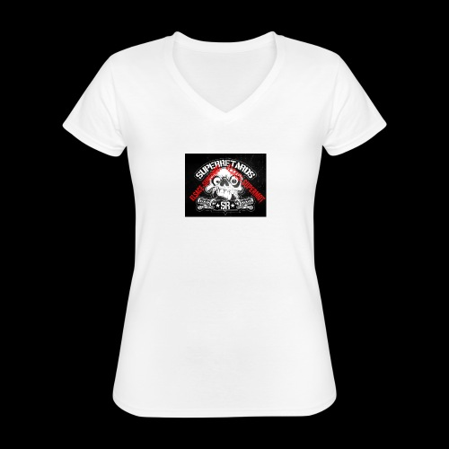 elsace-supermot - T-shirt classique col V Femme