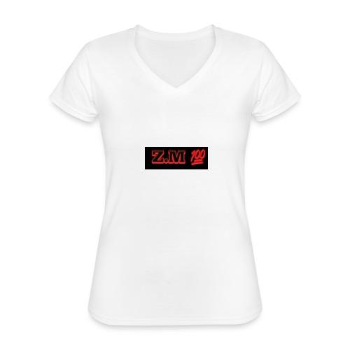 Z.M 100 - Classic Women's V-Neck T-Shirt