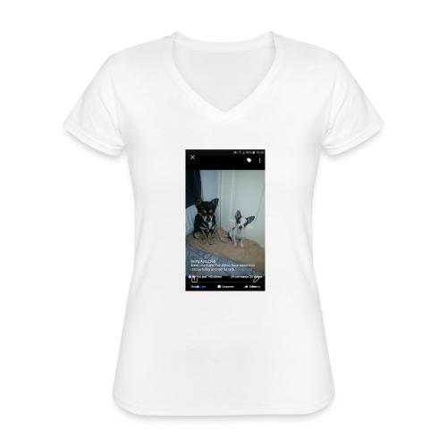 Dogs - Classic Women's V-Neck T-Shirt