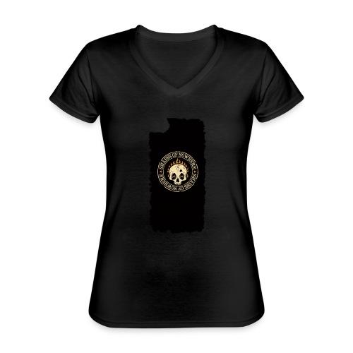 iphonekuoret2 - Klassinen naisten t-paita v-pääntiellä