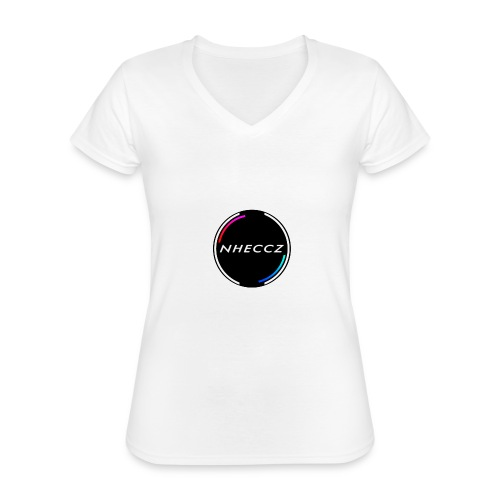 NHECCZ Logo Collection - Classic Women's V-Neck T-Shirt