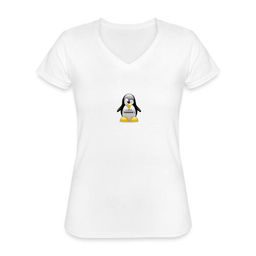I LOVE FASHION - T-shirt classique col V Femme