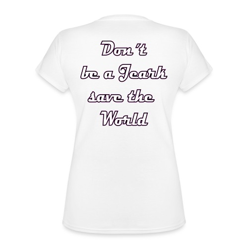 Save the World Jeark - Klassisches Frauen-T-Shirt mit V-Ausschnitt
