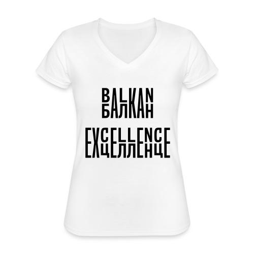 Balkan Excellence vert. - Classic Women's V-Neck T-Shirt