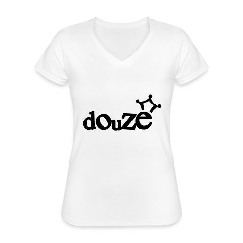 logo_douze - T-shirt classique col V Femme