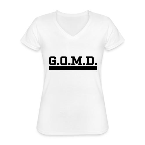 G.O.M.D. Shirt - Klassisches Frauen-T-Shirt mit V-Ausschnitt