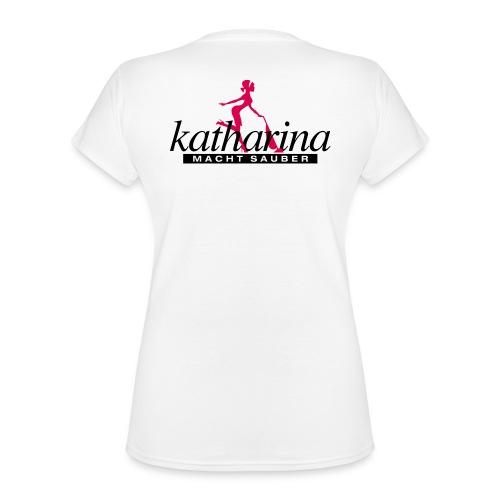 katharina - Klassisches Frauen-T-Shirt mit V-Ausschnitt