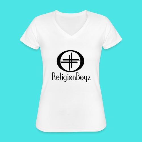 ReligionBoyz Teenager T - Classic Women's V-Neck T-Shirt