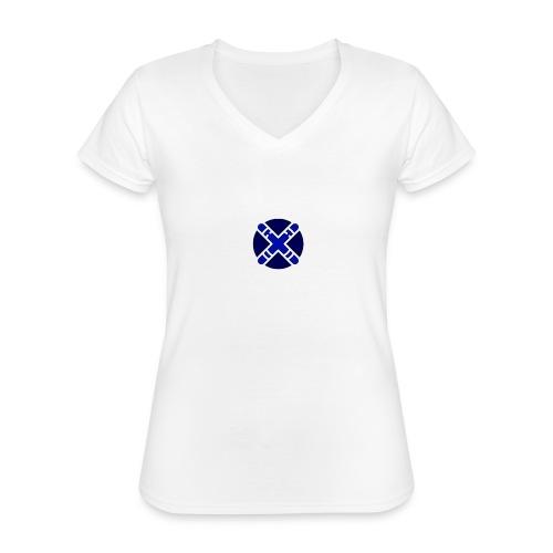 diseño advanced - Camiseta clásica con cuello de pico para mujer