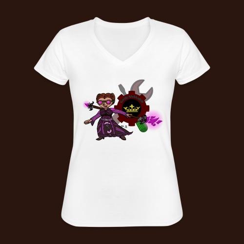 Gardelogo farbe png - Klassisches Frauen-T-Shirt mit V-Ausschnitt