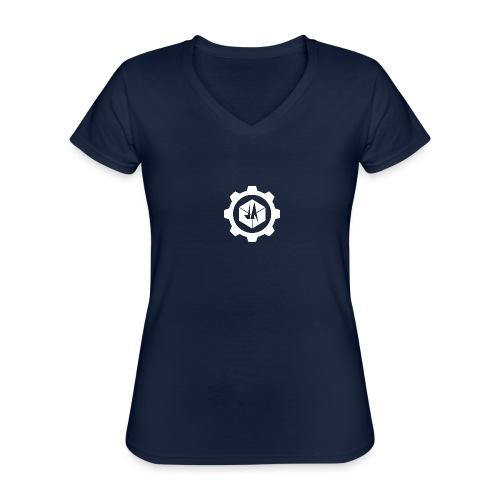 Jebus Adventures Cog White - Classic Women's V-Neck T-Shirt