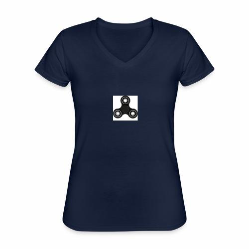 SPINNERIJONNEN UNELMA!!!!!!!!!!!!!! - Klassinen naisten t-paita v-pääntiellä