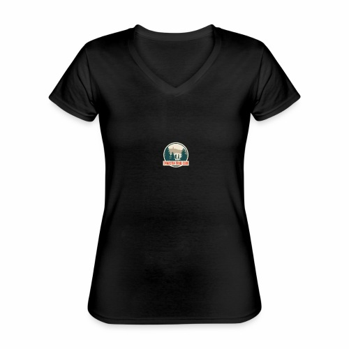 Tawastia Trail Logo - Klassinen naisten t-paita v-pääntiellä