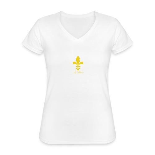 Les racines - T-shirt classique col V Femme