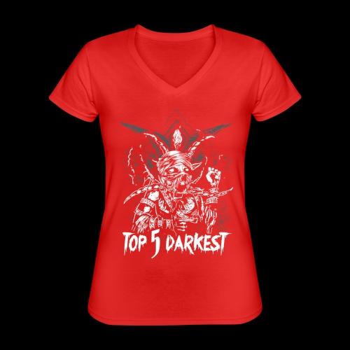 Top 5 Darkest - Classic Women's V-Neck T-Shirt