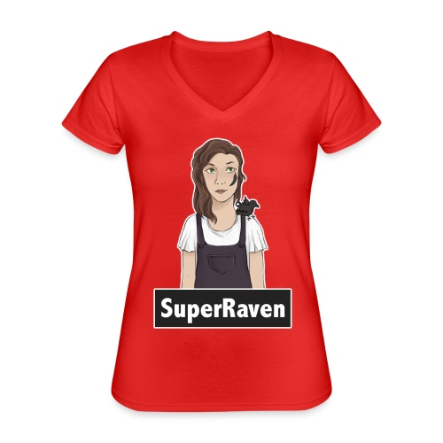 SuperRaven - Classic Women's V-Neck T-Shirt