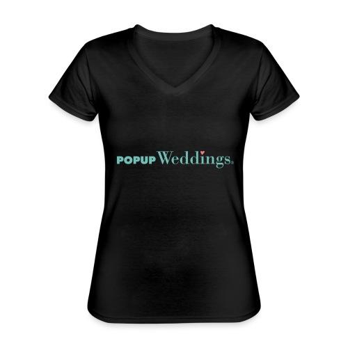 Popup Weddings - Classic Women's V-Neck T-Shirt