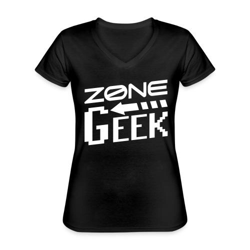 NEW Logo Homme - T-shirt classique col V Femme