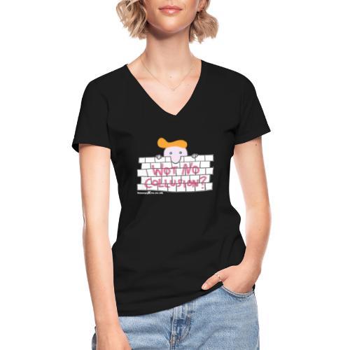 Trump's Wall - Classic Women's V-Neck T-Shirt