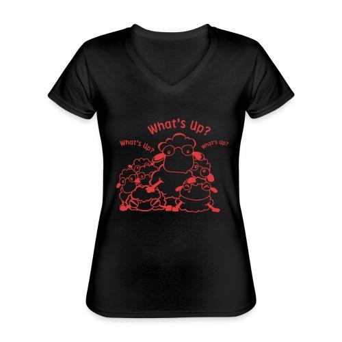 yendasheeps - Klassiek vrouwen T-shirt met V-hals
