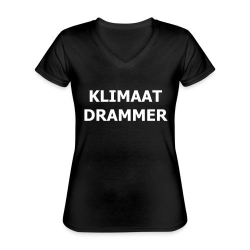 Klimaat Drammer - Classic Women's V-Neck T-Shirt
