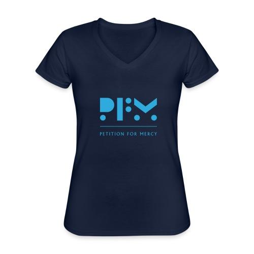 PFM_logo_video - Classic Women's V-Neck T-Shirt