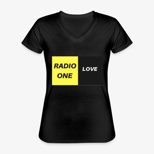 RADIO ONE LOVE - T-shirt classique col V Femme