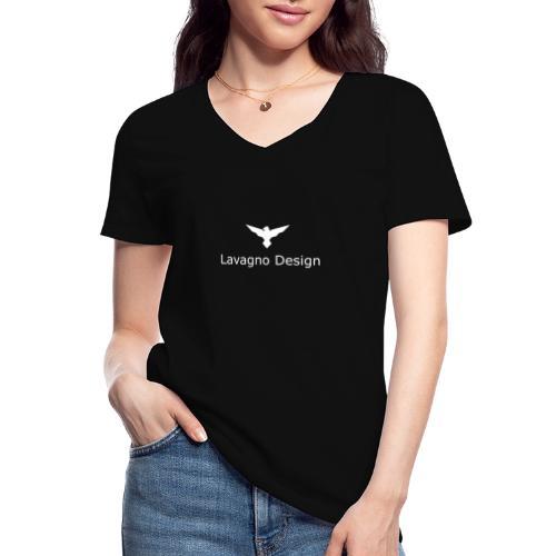 Lavagno Design - Maglietta da donna classica con scollo a V