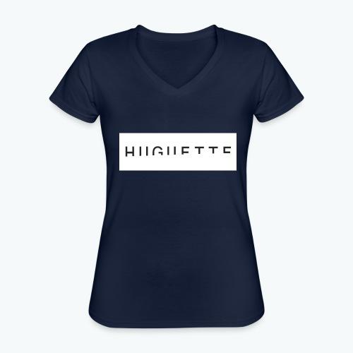 Huguette - T-shirt classique col V Femme