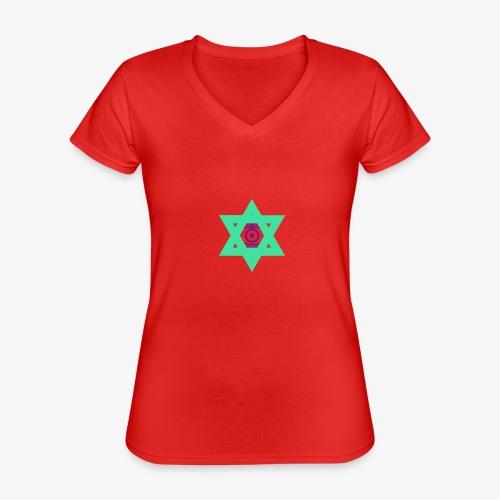 Star eye - Classic Women's V-Neck T-Shirt