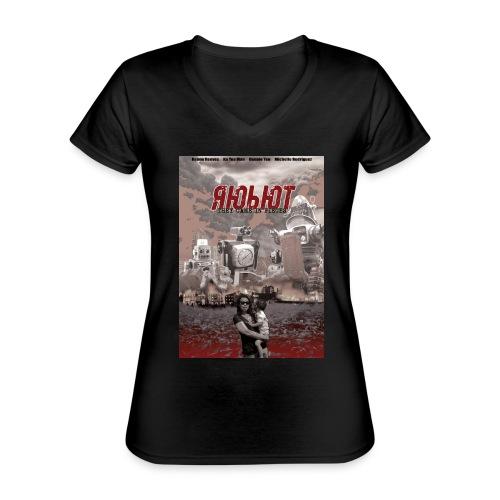 Ka bots - Klassiek vrouwen T-shirt met V-hals