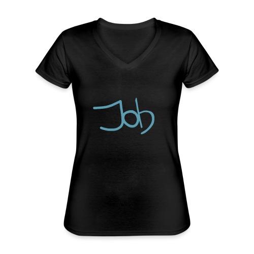Job - Klassiek vrouwen T-shirt met V-hals